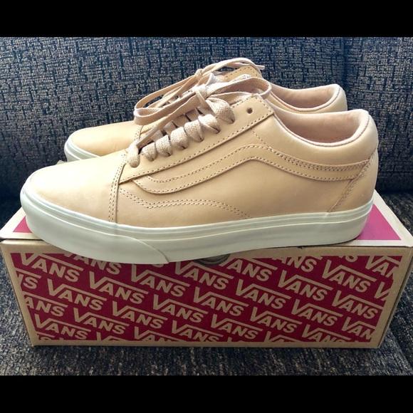 7880a8efe8 Vans Shoes | Old Skool Dx Veggie Tan Leather Sz 8 Womens | Poshmark